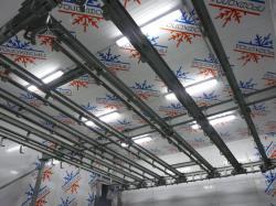 Подвесные пути в  холодильной камере