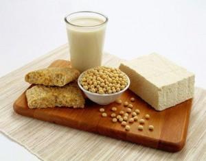 Использование соевых белков